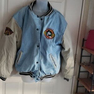 Disney quilted jacket XL